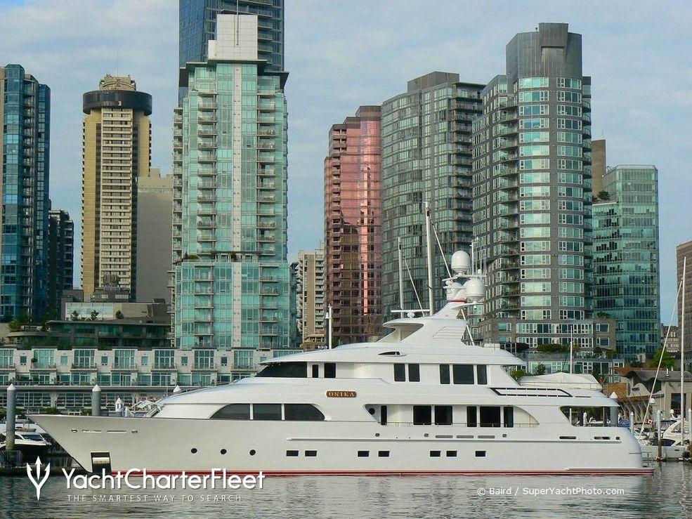 Onika Charter Yacht