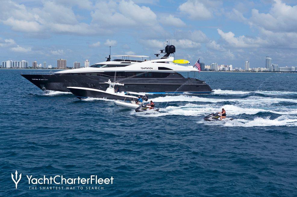 Temptation Charter Yacht