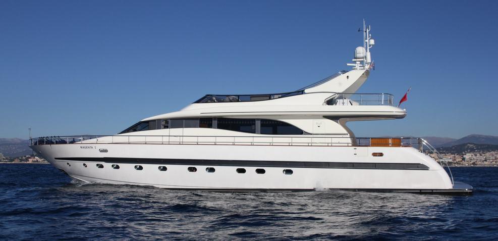 Magenta Charter Yacht
