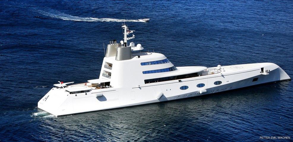 A Charter Yacht