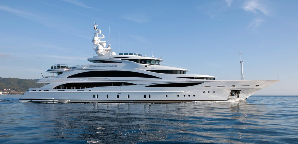 Diamonds Are Forever Charter Yacht
