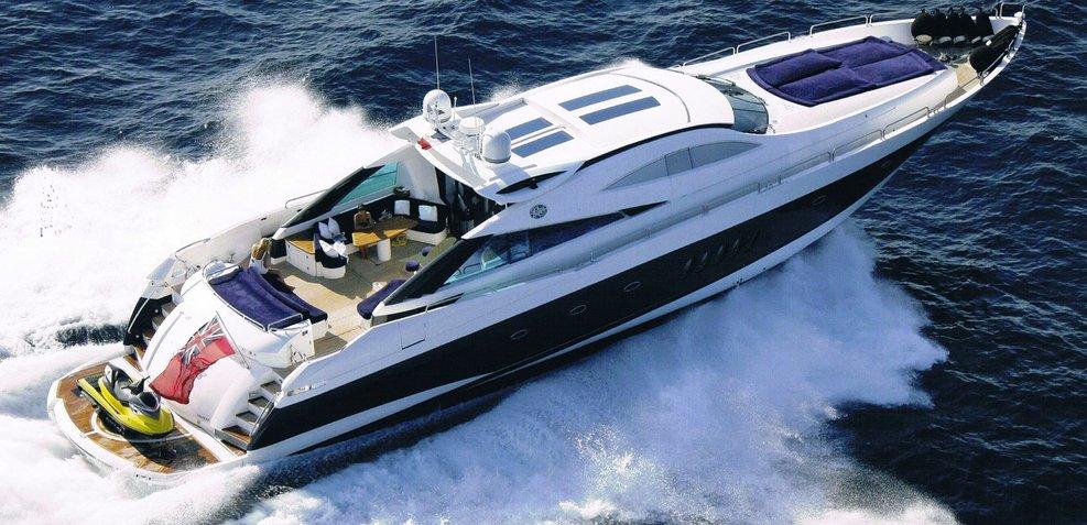 Sirius of Man Charter Yacht