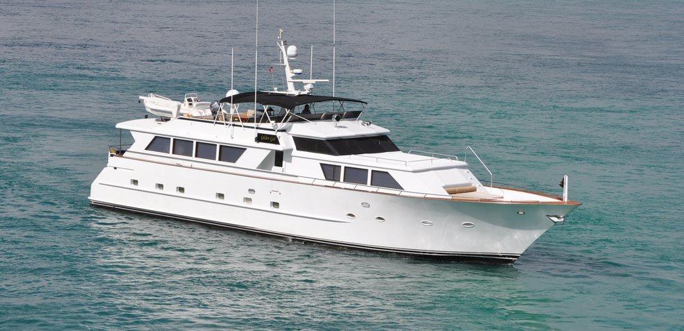 Golden Girl Charter Yacht
