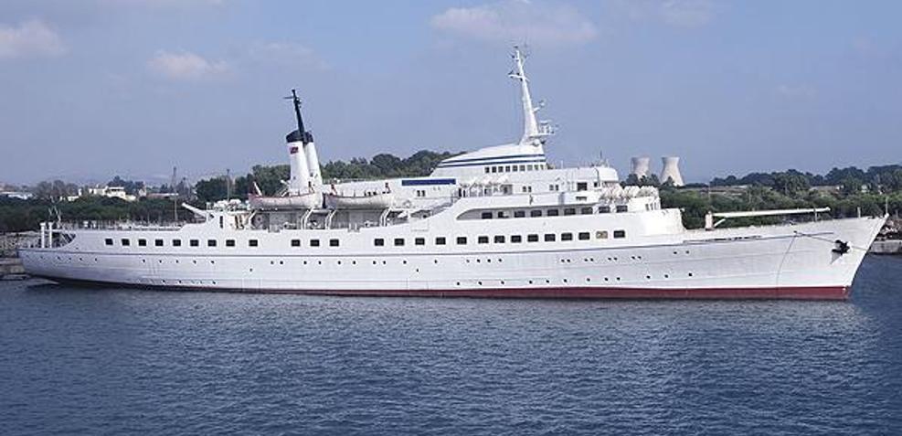 Blohm & Voss 104m Charter Yacht