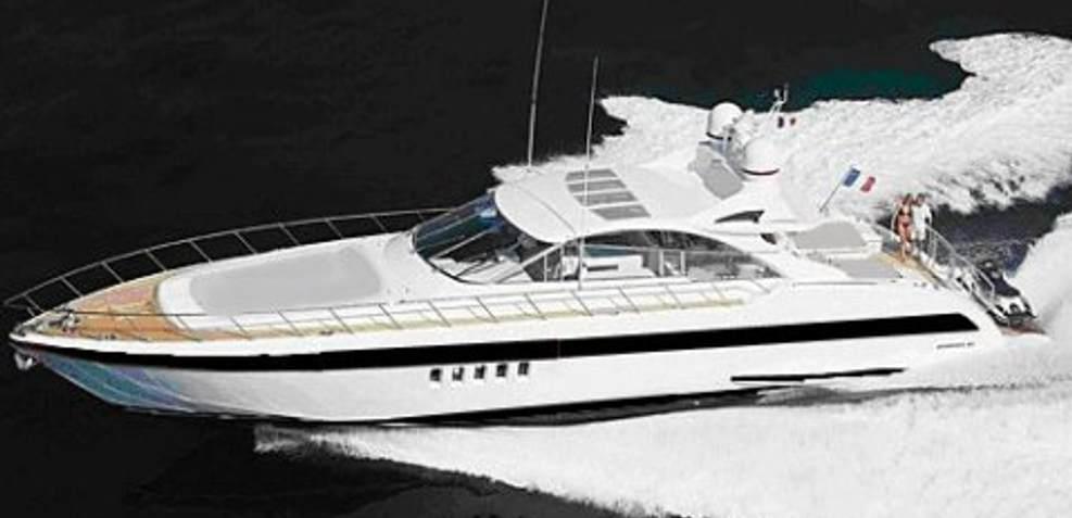 Mangusta 80/57 Charter Yacht
