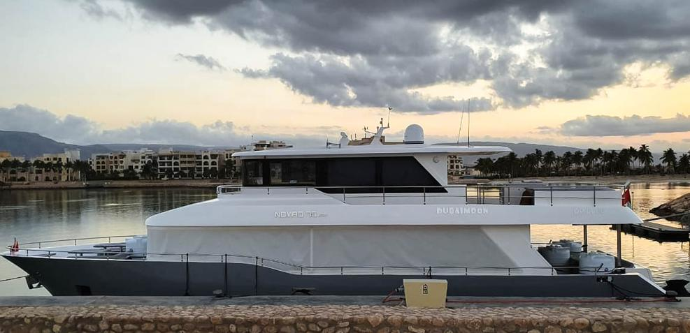 Dubai Moon Charter Yacht
