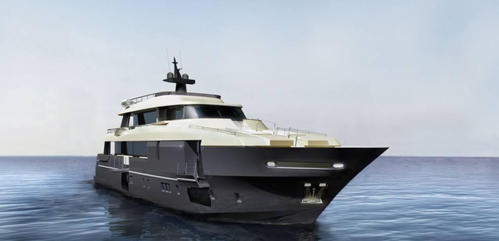 Aicon Navetta 110 Charter Yacht