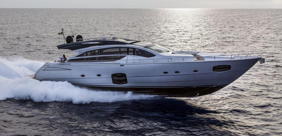 Pershing 82 VHP Charter Yacht