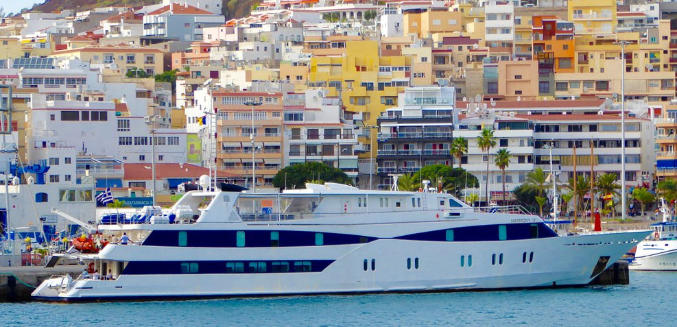 Harmony V Charter Yacht