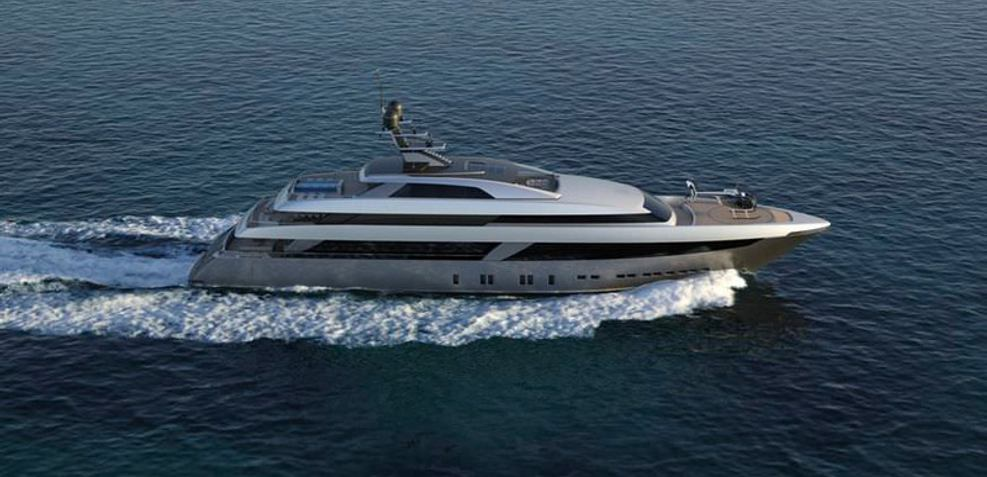 62 Steel 131 Charter Yacht