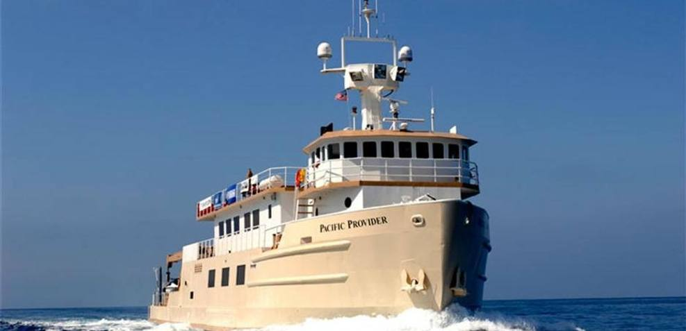 Pacific Provider Charter Yacht