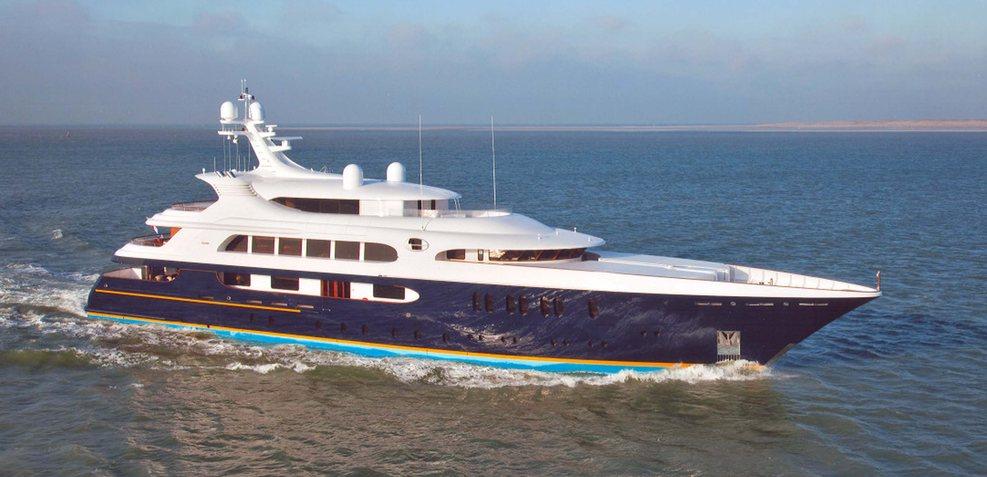 Tanusha Charter Yacht