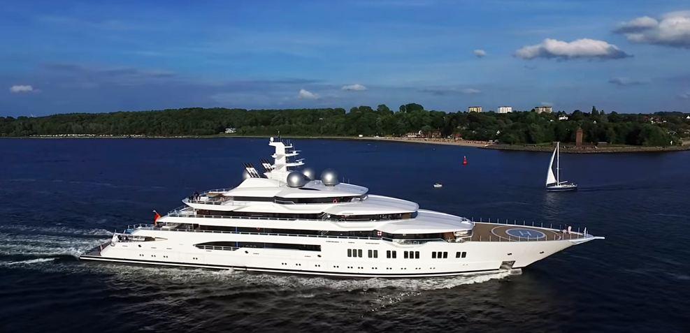 Amadea Charter Yacht