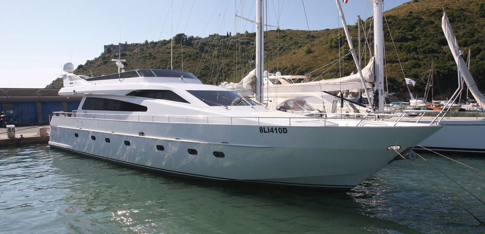 Florence D.F.M Charter Yacht