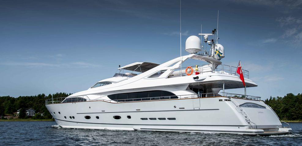 Queen of Sheba Charter Yacht