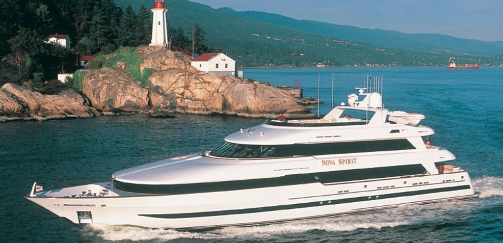 Nova Spirit Charter Yacht