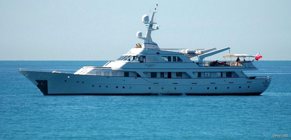 Atlantica Seconda Charter Yacht