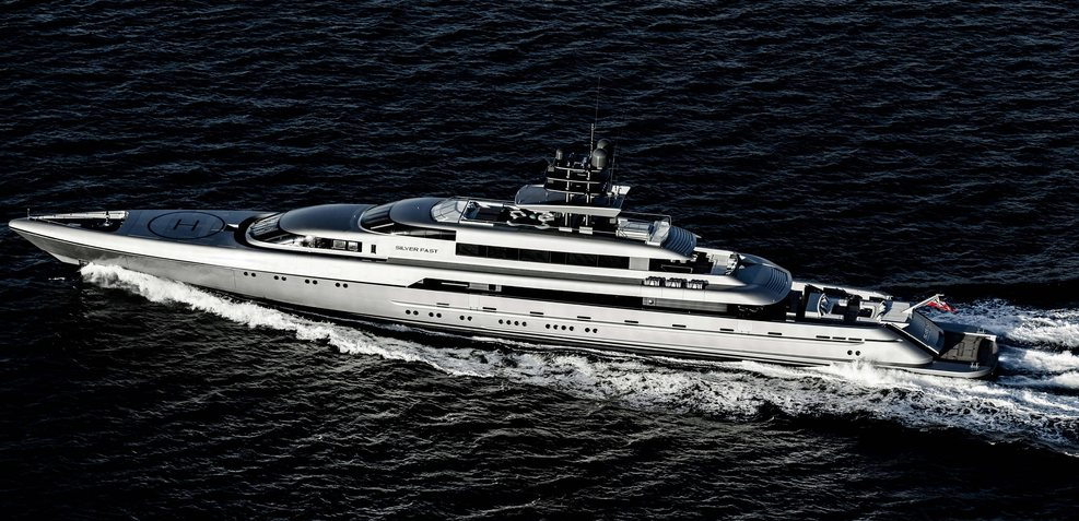 Silver Fast Charter Yacht