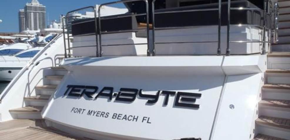 Tera-Byte Charter Yacht