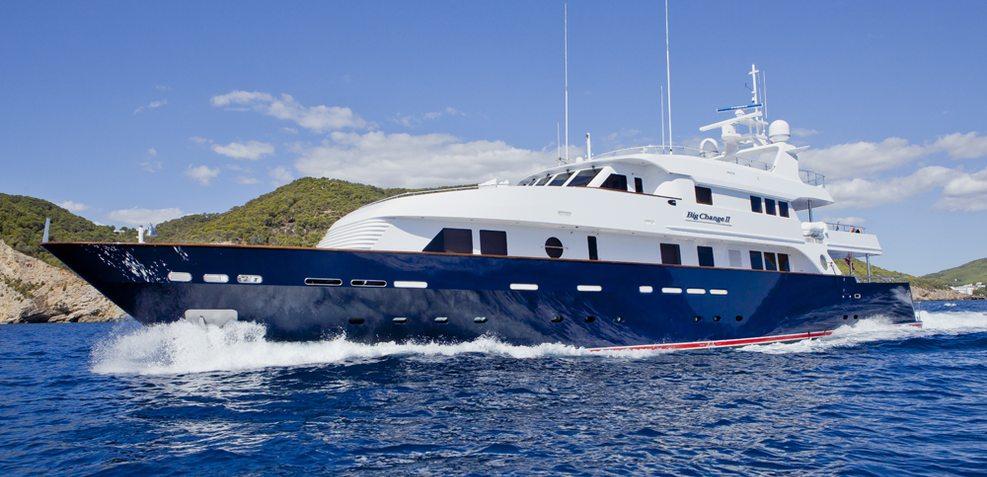 Big Change II Charter Yacht