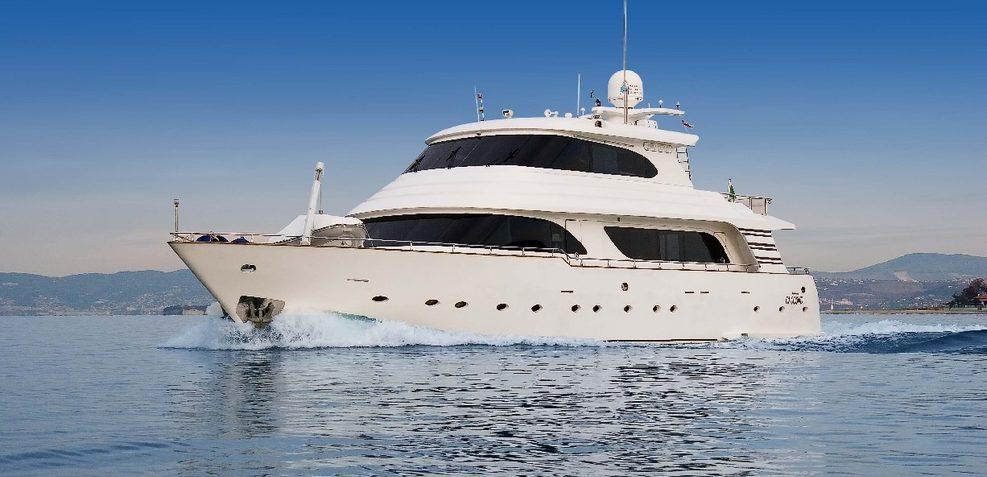 Princess Anna Dukaj Charter Yacht