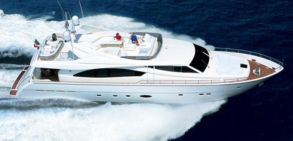 Lady Y Charter Yacht