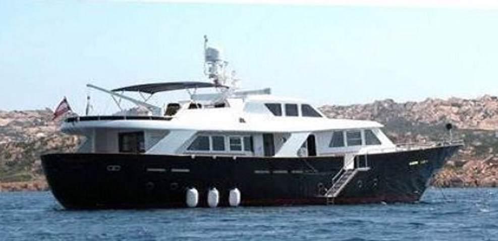 Benetti Sail Division RPH Charter Yacht