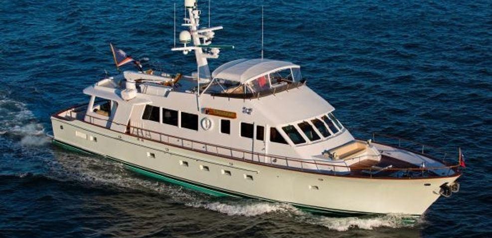 Tumblehome Charter Yacht