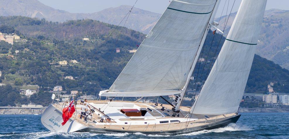 Elise Whisper Charter Yacht