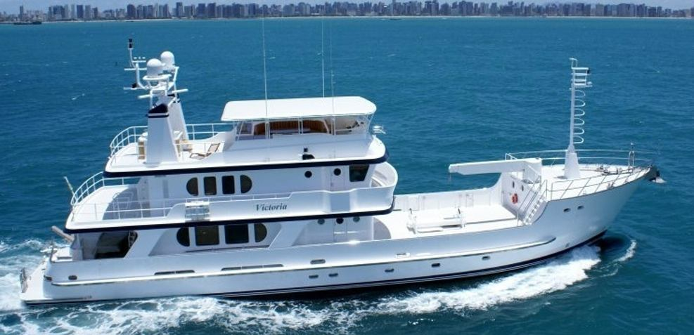 Victoria A Charter Yacht