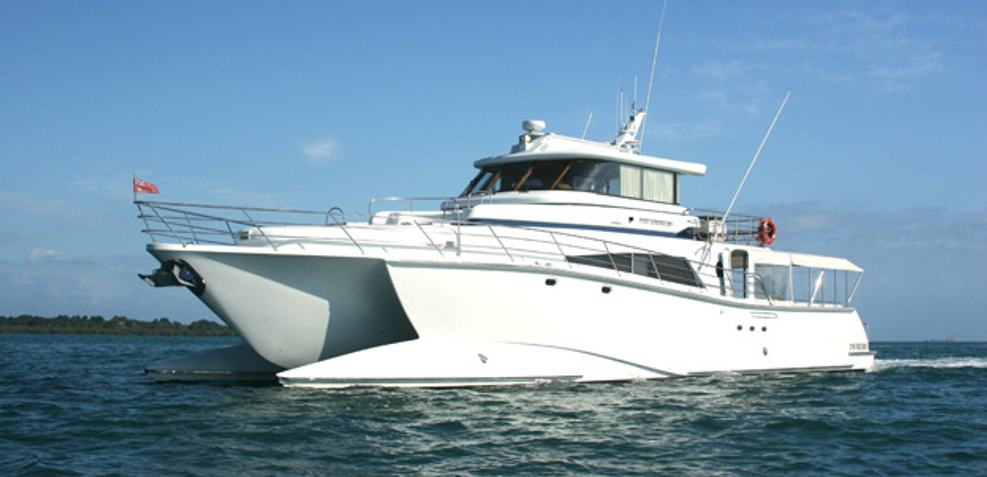 Pure Adrenalin Charter Yacht
