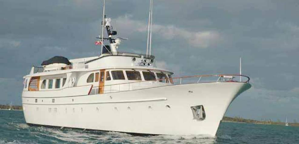 Sea Czar Charter Yacht
