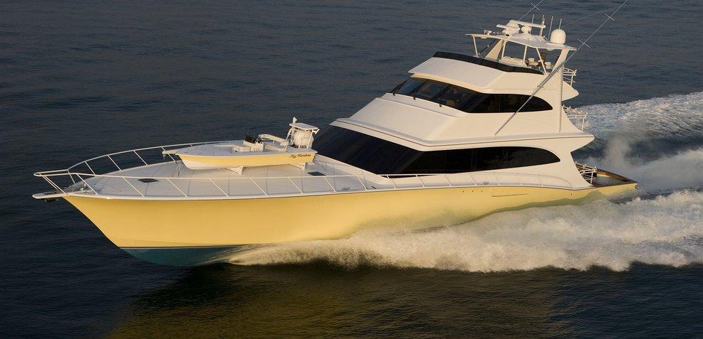 Relentless Pursuit Charter Yacht