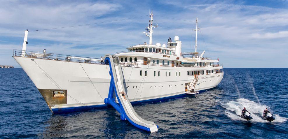 Sherakhan Charter Yacht