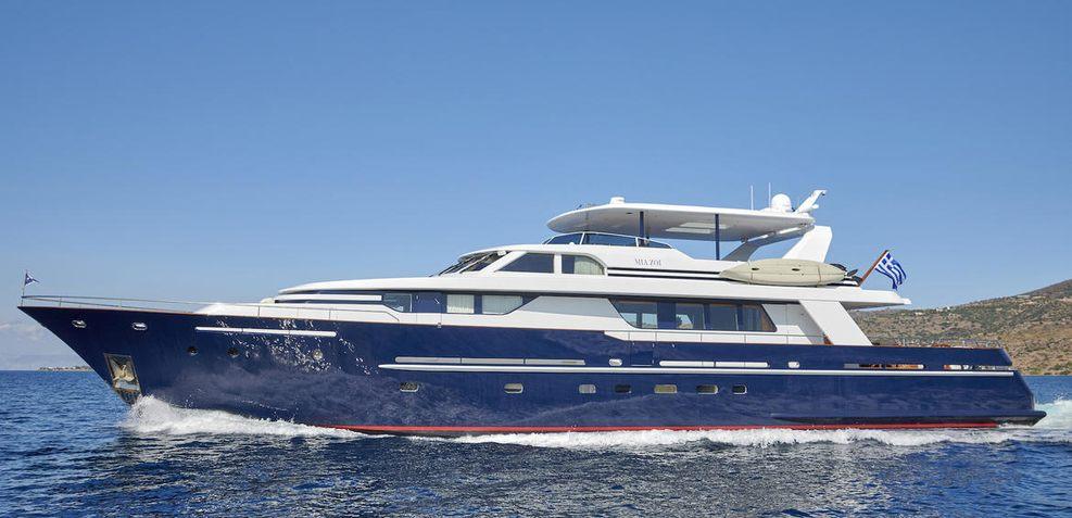 Mia Zoi Charter Yacht