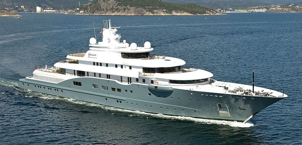Radiant Charter Yacht