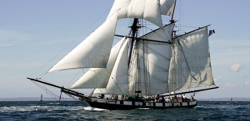 La Recouvrance Charter Yacht