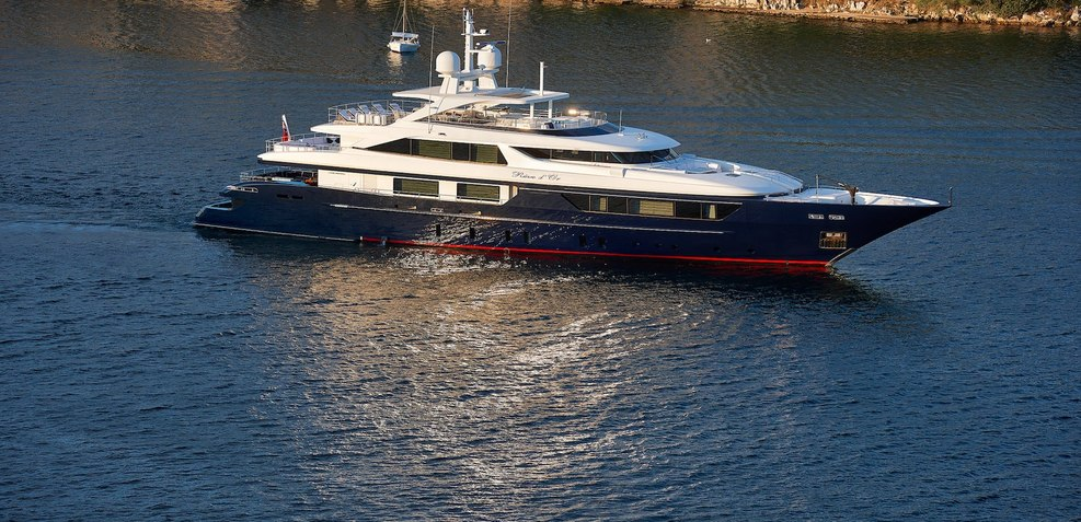 Reve D'or Charter Yacht