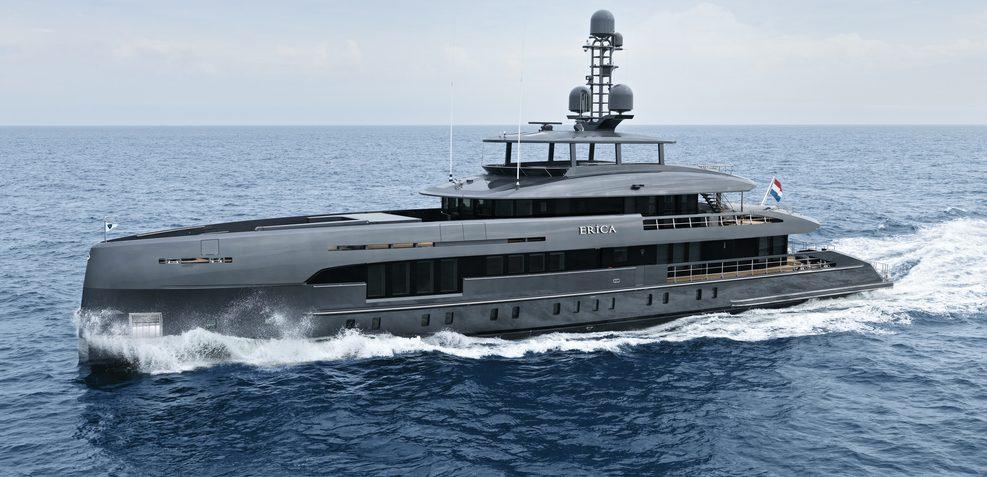 Erica Charter Yacht