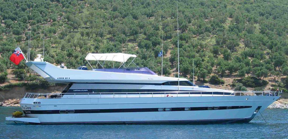 Lady Dana Charter Yacht