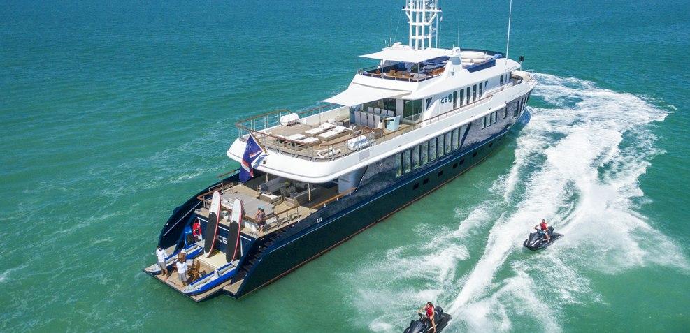 Ice 5 Charter Yacht