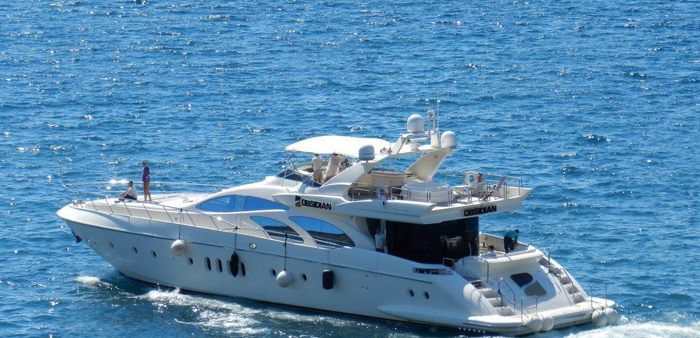 Obsidian Charter Yacht