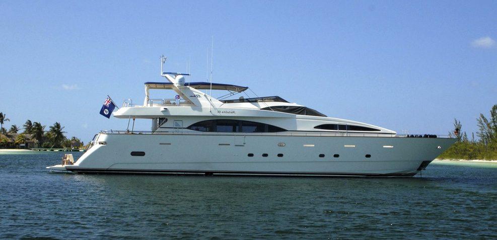 Natalia Charter Yacht