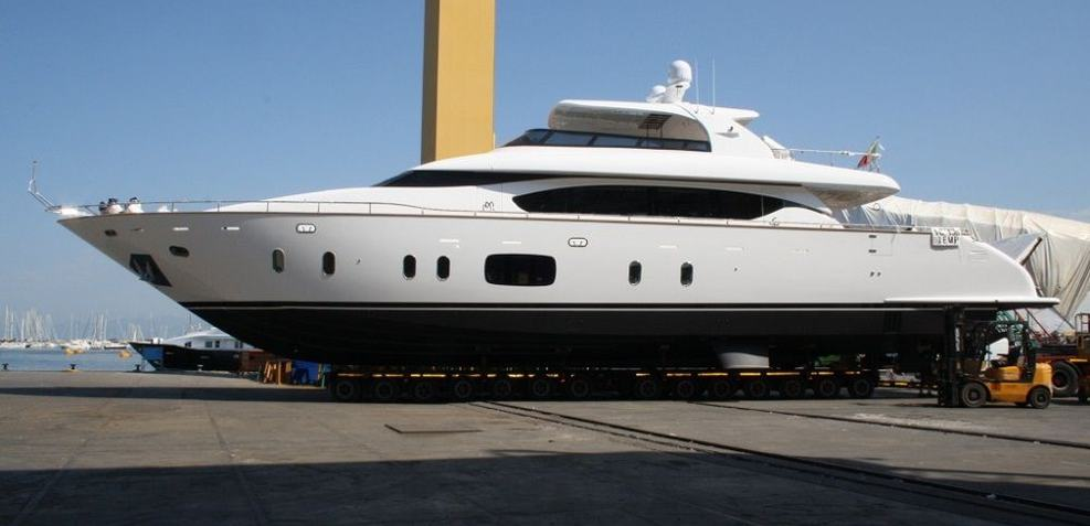 Efficient Propulsion Charter Yacht