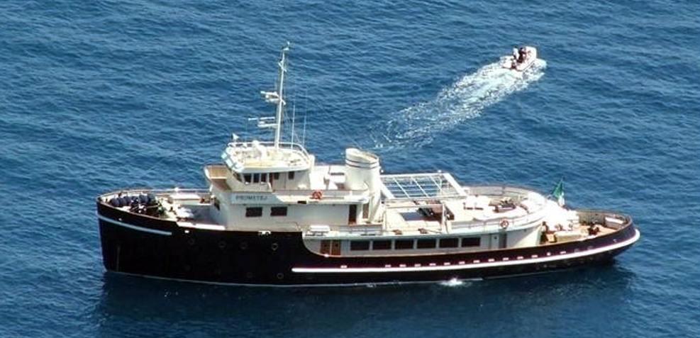 Prometej Charter Yacht