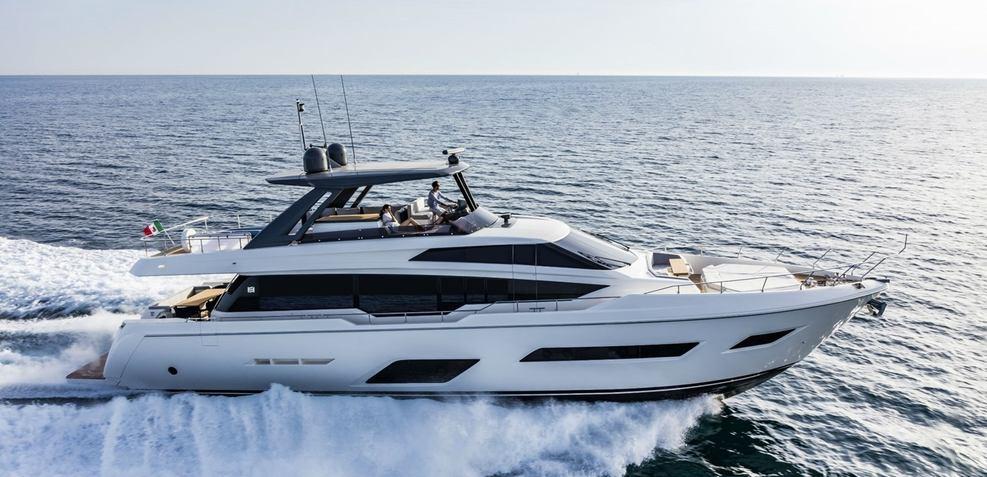 Ferretti 780/21 Charter Yacht