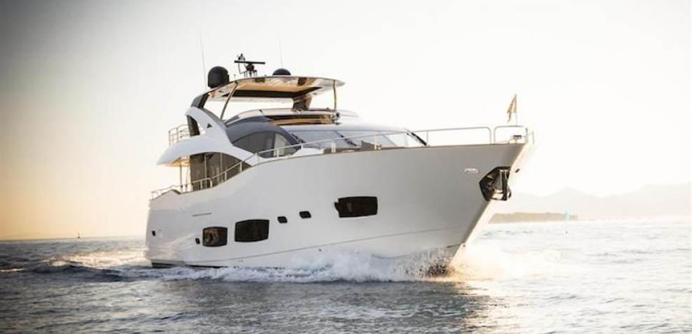 Sunseeker 28 m Charter Yacht