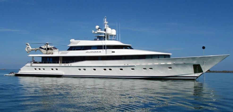 Aurora A Charter Yacht
