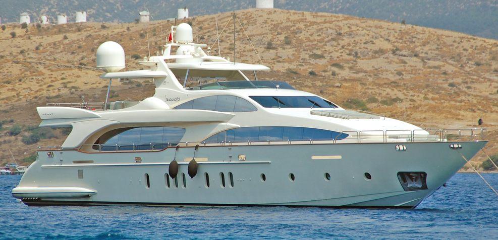 Squalo Charter Yacht