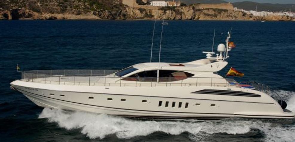 Allegria Charter Yacht